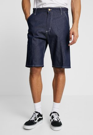 RUCK SINGLE KNEE NORCO - Denim shorts - blue rigid
