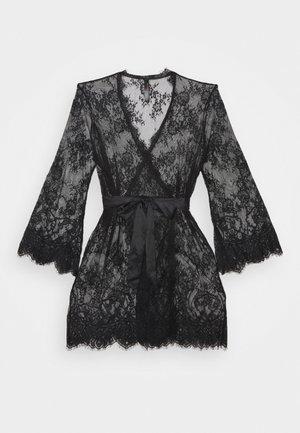 SARIA ROBE - Dressing gown - black