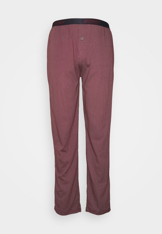 PANTS - Pantaloni del pigiama - bordeaux