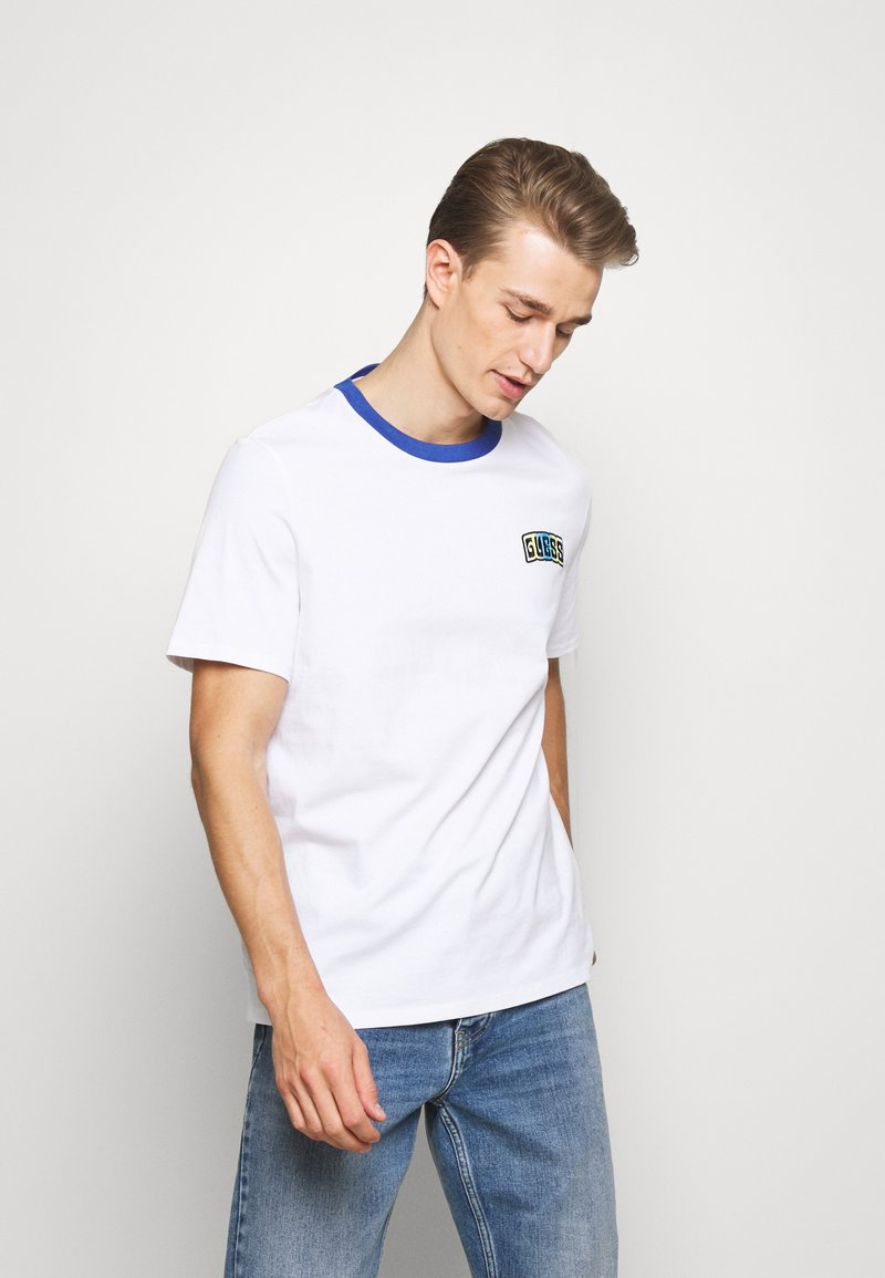 Guess - Camiseta estampada - true white