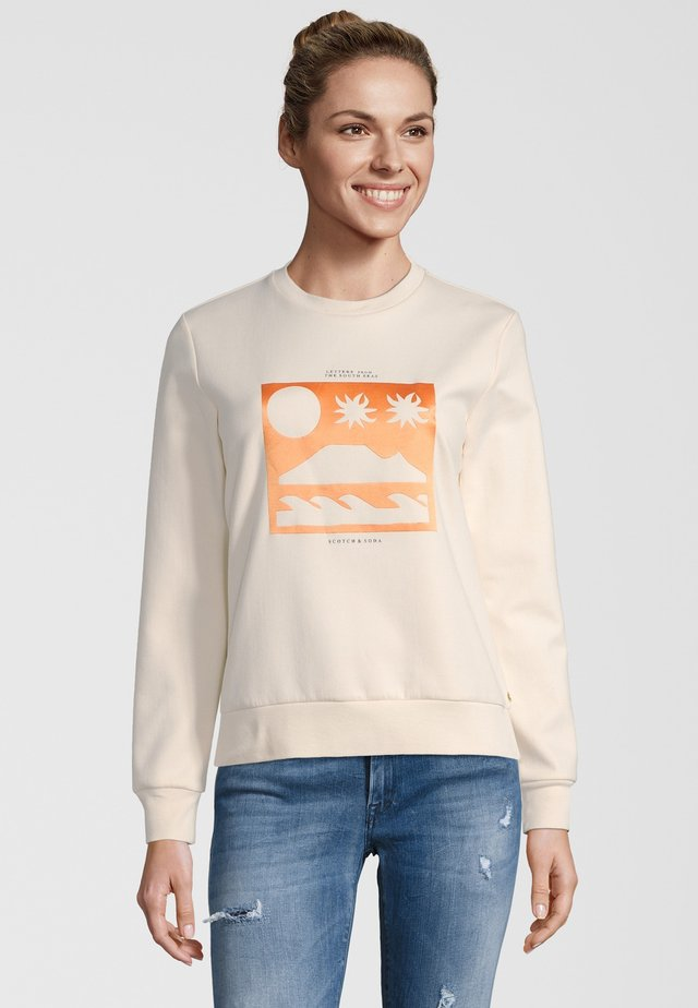 ARTWORKS - Sweater - creme
