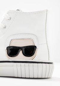KARL LAGERFELD - KAMPUS KARL IKONIC - Sneakers high - white - 2
