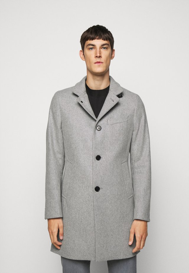 HOLGER COMPACT MELTON  - Classic coat - granite melange