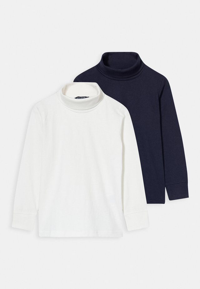 KIDS BASIC ROLLNECK 2 PACK - Long sleeved top - multi-coloured