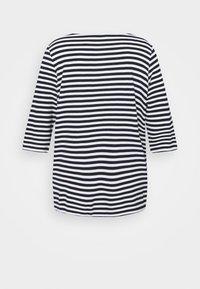 MY TRUE ME TOM TAILOR - OTTOMAN STRIPED - Long sleeved top - navy white regular stripe - 1