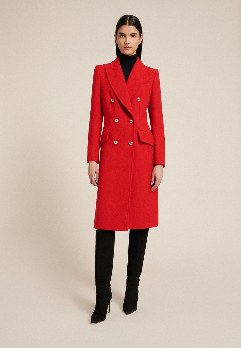 Luisa Spagnoli - SUONO - Classic coat - rosso