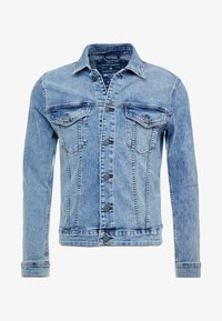 Only & Sons - ONSCOME TRUCKER - Kurtka jeansowa - blue denim - 4