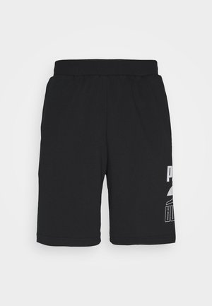 REBEL SHORTS - Korte sportsbukser - black