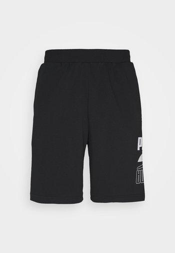 REBEL SHORTS - Sports shorts - black