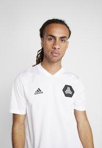 adidas Performance - TAN  - Camiseta estampada - white - 4