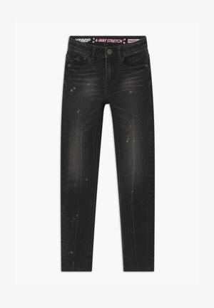 BELLA - Jeans Skinny Fit - dark grey vintage