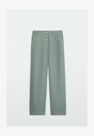FLIESSENDE - Trousers - green