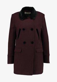 NAF NAF - CHARLOTTE - Zimní kabát - prune - 5