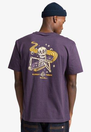 T-shirt print - mysterioso