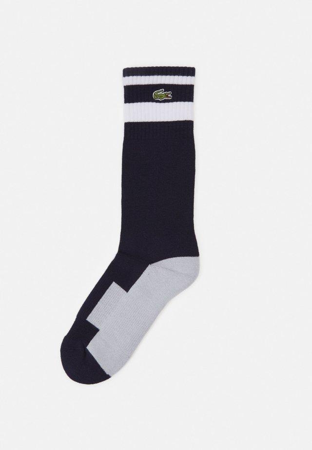 TENNIS UNISEX - Sports socks - navy blue/white