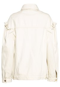 Mother of Pearl - JACKET WITH SLEEVE - Denim jacket - ecru - 1