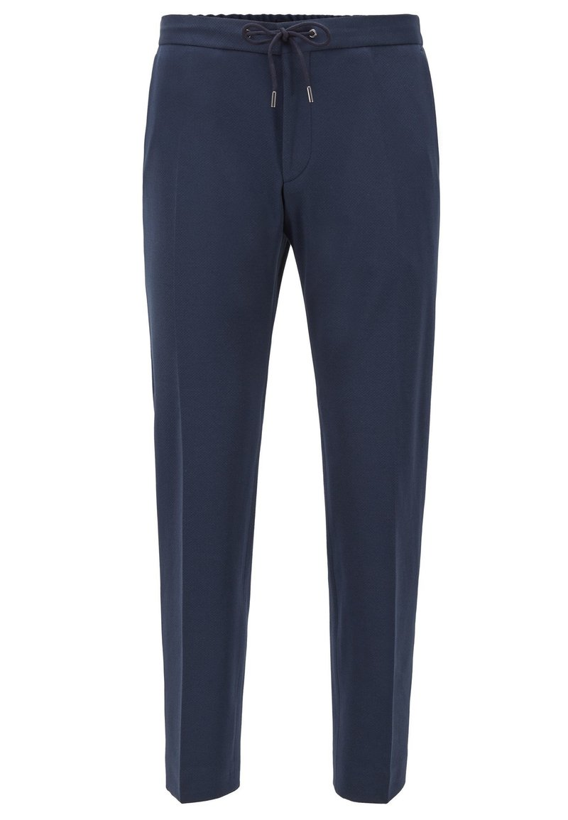 BOSS - BANKS - Tracksuit bottoms - dark blue
