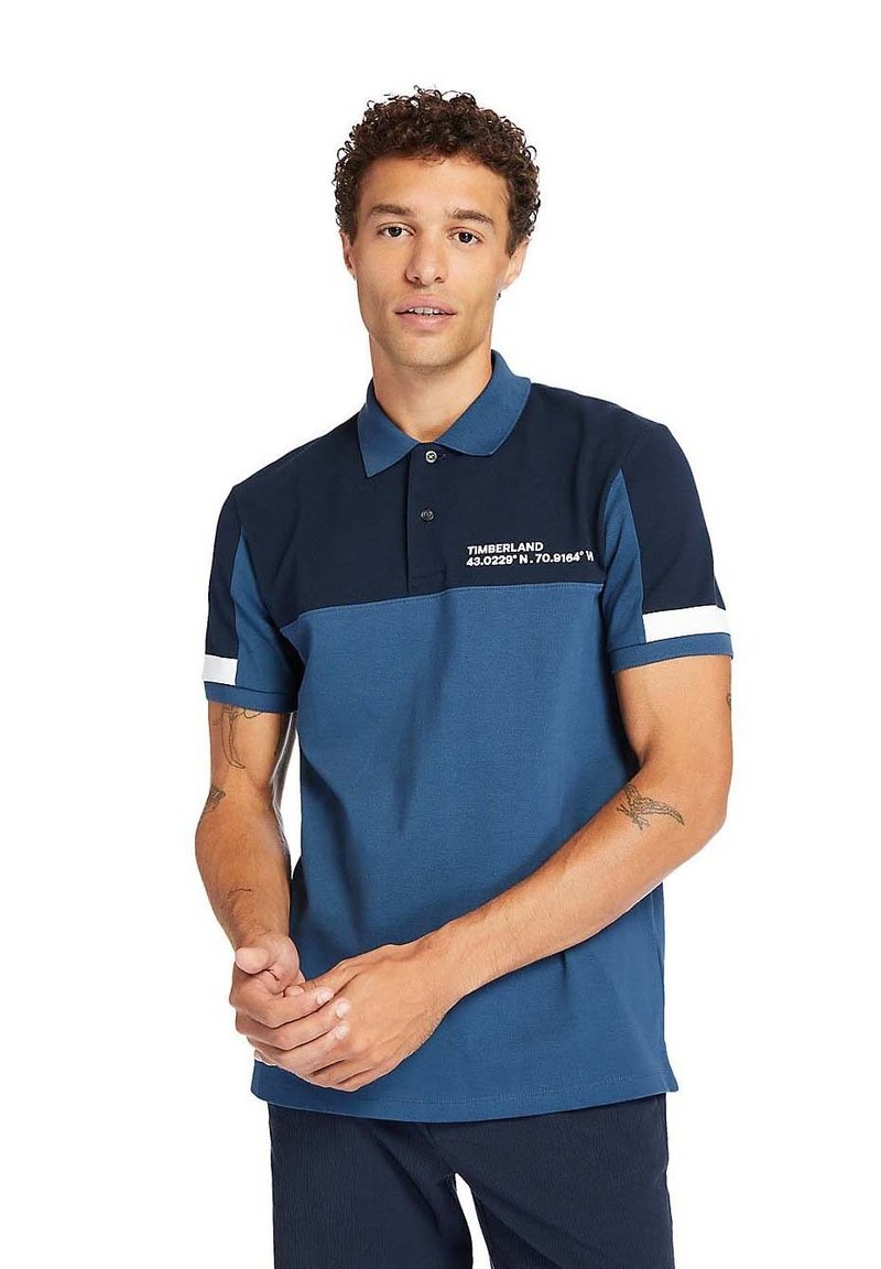 Timberland - MILLERS RIVER  - Polo shirt - dark denim/dark sapphire