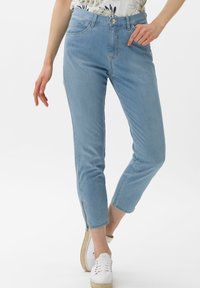 BRAX - STYLE MARY S - Slim fit jeans - used summer blue - 0