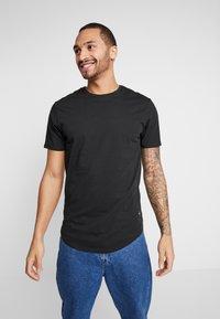 Only & Sons - ONSMATT  5-PACK - Basic T-shirt - black/white/blue - 3