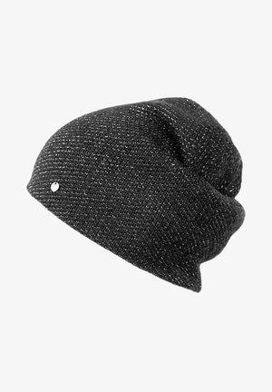 Beanie - dark grey melange