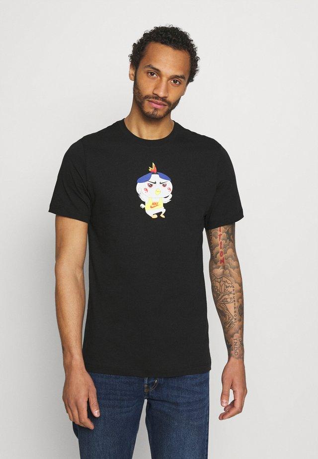 TEE FOOD RAMEN - T-shirt z nadrukiem - black