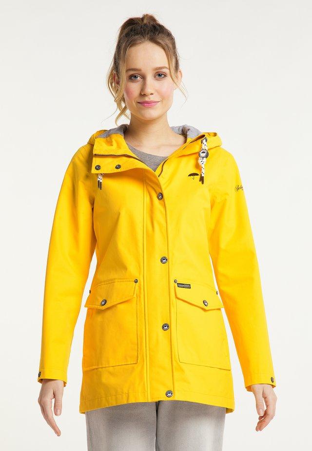 Vodotěsná bunda - gelb