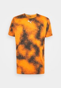 LOGO TEE - Print T-shirt - carrot