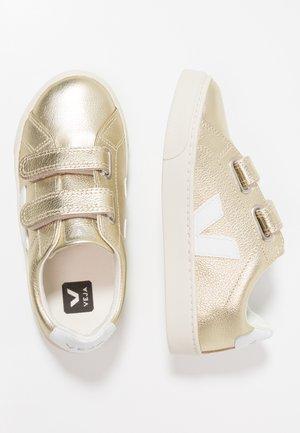 ESPLAR SMALL  - Baskets basses - gold/white