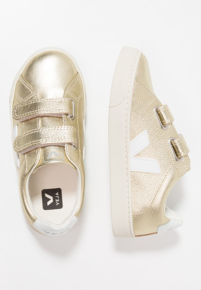 ESPLAR SMALL  - Trainers - gold/white
