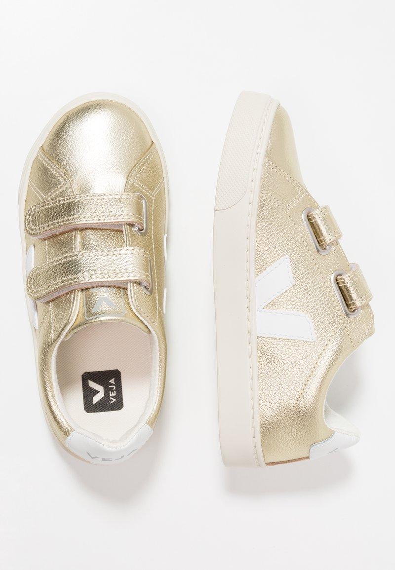 Veja - ESPLAR SMALL  - Baskets basses - gold/white