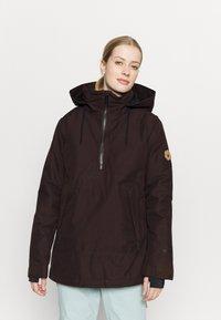 Volcom - FERN INS GORE - Snowboard jacket - black/red - 0