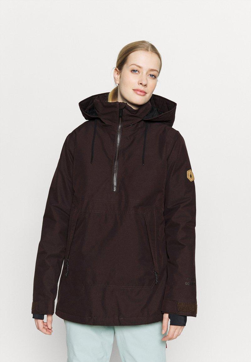 Volcom - FERN INS GORE - Snowboard jacket - black/red
