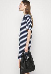 rag & bone - THE SLUB DRESS LABEL - Jersey dress - white/blue - 3