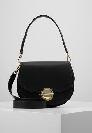 Across body bag - black/gold-coloured