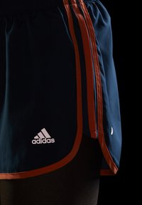 adidas Performance - Marathon 20 SHORT RESPONSE AEROREADY RUNNING REGULAR SHORTS - Urheilushortsit - wild teal/screaming orange - 3