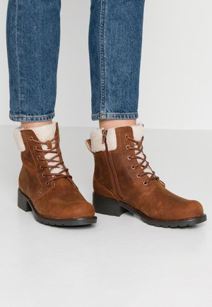 ORINOCO DUSK - Lace-up ankle boots - tan