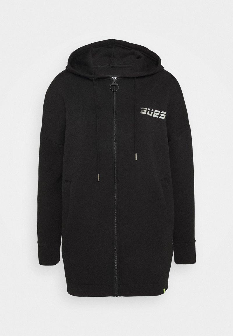 Guess - Zip-up hoodie - jet black