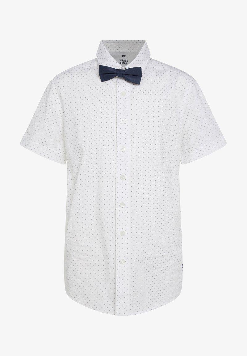 WE Fashion - MET DESSIN - Overhemd - white