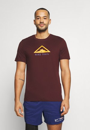DRY TEE TRAIL - Print T-shirt - mystic dates