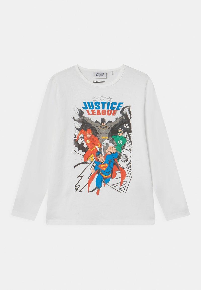 Staccato - MARVEL JUSTICE LEAGUE - Maglietta a manica lunga - off-white