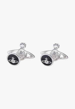 MINI RELIEF CUFFLINKS - Cufflinks - silver-coloured