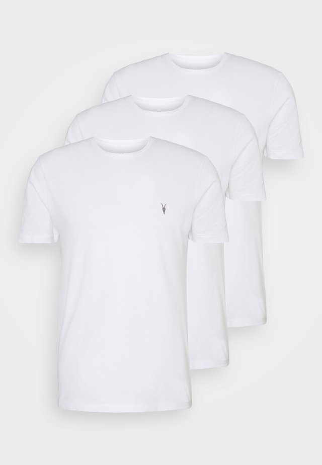 BRACE TONIC 3 PACK - T-shirt basic - white