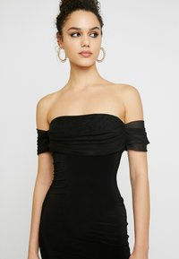 Club L London - BARDOT MINI DRESS - Cocktail dress / Party dress - black - 5