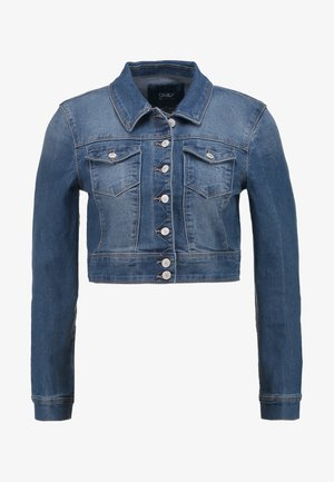 ONLNEW WESTA CROPPED JACKET - Džínová bunda - medium blue denim