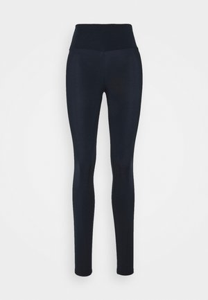 LEGGINGS GLOSSY  - Leggings - dark night