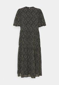 ONLY - ONLNINA MIDI DRESS - Day dress - black/graphic - 5