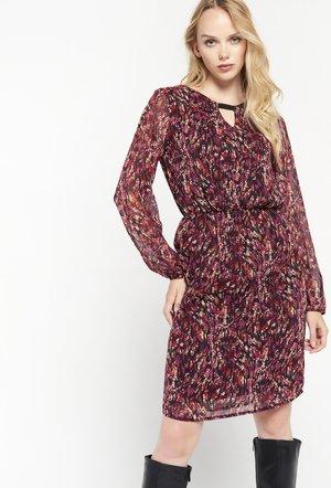 LONG SLEEVES - Jersey dress - purple