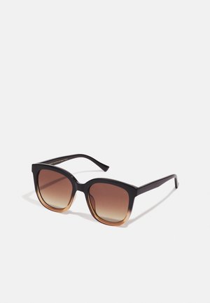 BILLY - Sunglasses - black/brown transparent