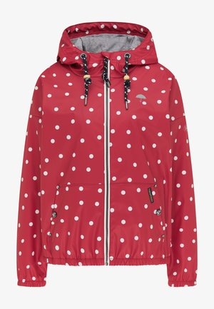 Impermeable - rot dots aop